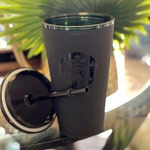 Starbucks Matte Black 16oz Tumbler